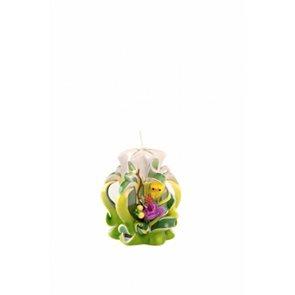 Velikonoční svíčka 10 cm zelená