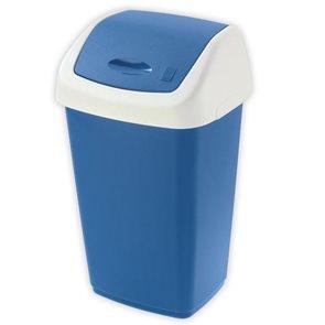 Koš na odpadky SWING AURORA 50 L modrý