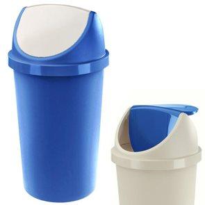 Koš na odpadky SWING AURORA 45 L modro - bílá