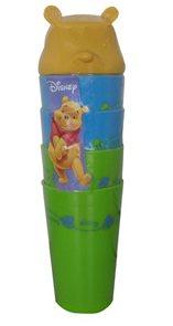 Sada plastových pohárků Disney