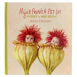 Anne Geddes Kniha Mých prvních pět let - Máky