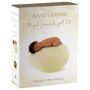 Anne Geddes Kniha Mých prvních pět let