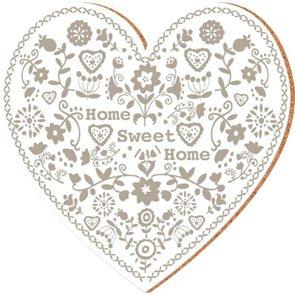 Korkové prostírání Sweet Home béžové