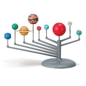 Malý svítící model sluneční soustavy