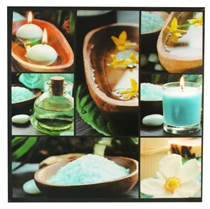 Obraz Modrá sůl 50 x 50 cm