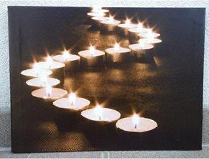 Obraz Svíčky svítící