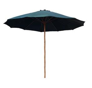 Bambusový slunečník 300cm DARK GREEN