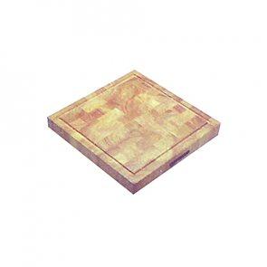 Prkénko čtverec masivní 30 x 30 x 3.9 cm