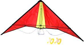 Drak létající Rogalo nylon 127x38cm
