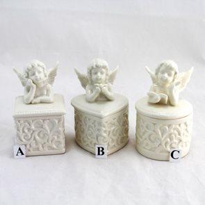 Porcelánová šperkovnice