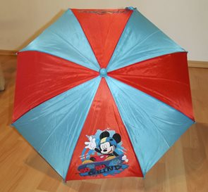 Dětský deštník Mickey na skatu 65 cm