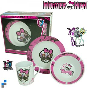 Snídaňový set Monster High