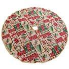 Gobelínová podložka pod vánoční stromeček Vánoční punčocha