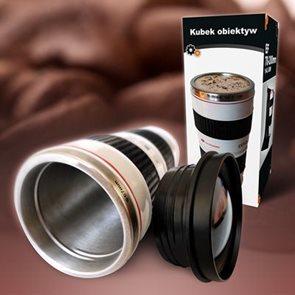 Hrnek objektiv Lens cup bílý