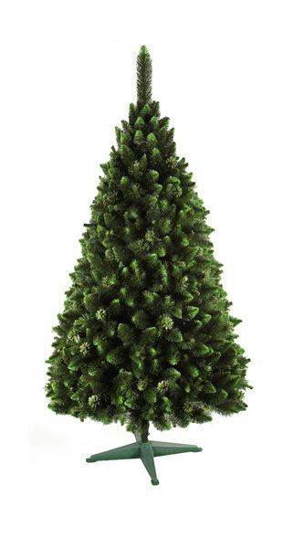 Umělý vánoční stromek Borovice zelený brokát 120 cm