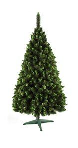 Umělý vánoční stromek Borovice zelený brokát 220 cm