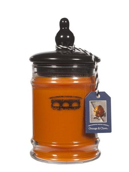 Exkluzivní vonná svíčka Orange & Glove malá