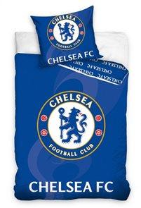 Povlečení FC Chelsea modré 140x200 70x80 cm