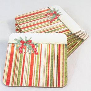 Korkové prostírání Vánoční mašle