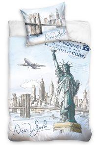Ložní povlečení New York 140 x 200/70 x 90 cm