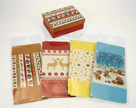 Dárkový box vánoční 12 x 9 x 4,5 cm
