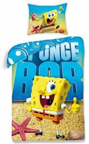 Bavlněné povlečení SpongeBob 140x200 70x80cm