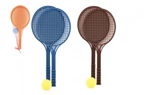 Soft tenis set, mix barev