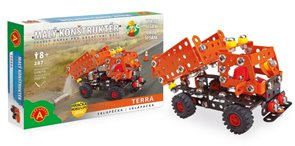 Malý konstruktér - SKLÁPĚČKA Terra (Cestáři)