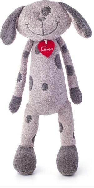 Pes Flavio šedý, velký 40 cm