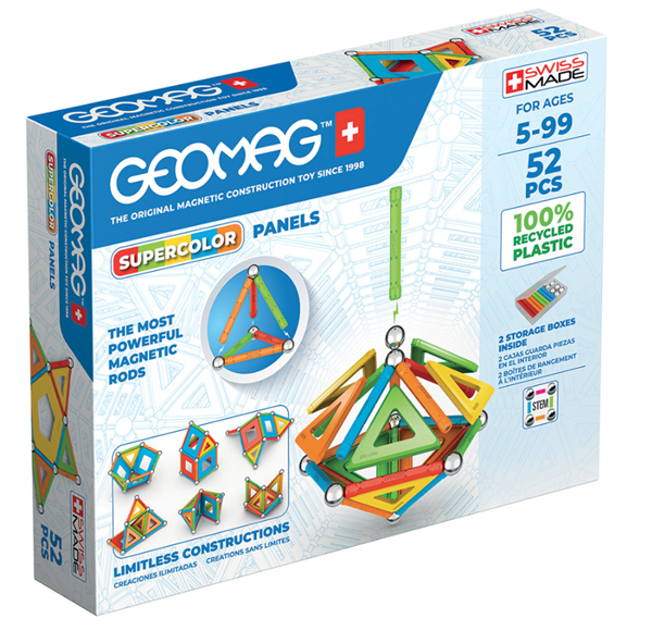 Geomag Supercolor Panels 52