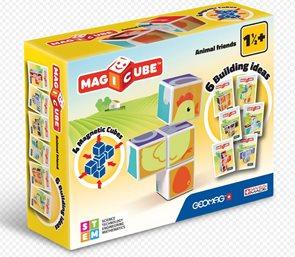 Magicube - Zvířátka, 4 kostky
