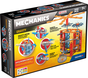 Geomag Mechanics Gravity 330 dílů