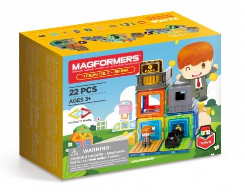 Magformers - Městečko Banka