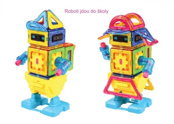 Magformers Chodící robot, Doprava zdarma