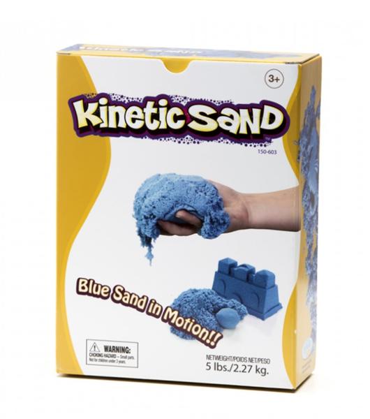Kinetický písek 2,3 kg - modrý