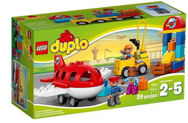 LEGO DUPLO 10590 Letiště, 2 - 5 let