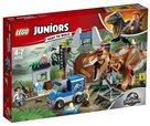 LEGO Juniors 10758 Jurský svět - Útěk T. rexe