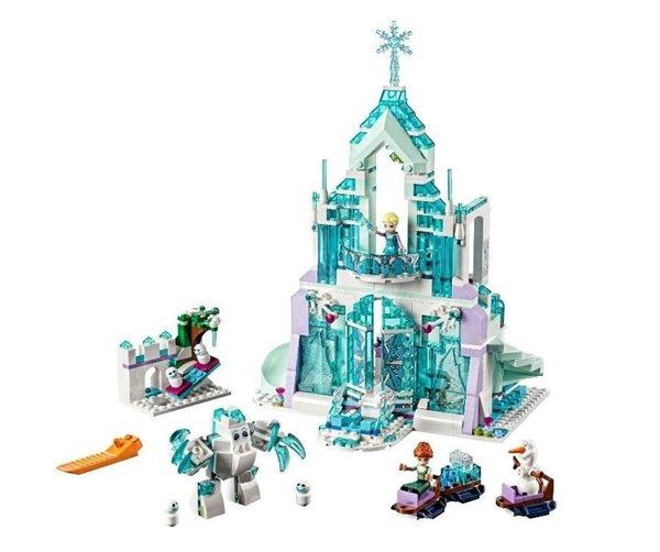 LEGO Disney Princezny 43172 Elsa a její kouzelný ledový palác