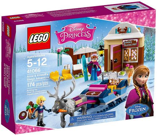 LEGO Disney Princezny 41066 Dobrodružství na saních s Annou a Kristoffem, věk 5-12, novinka 2016