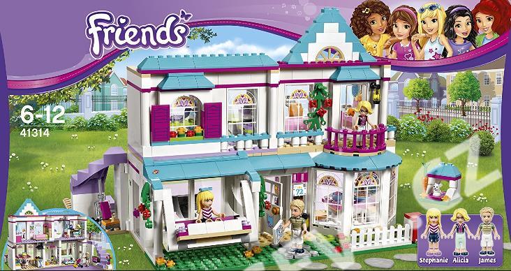 a1de6de1b LEGO Friends 41314 Stephanie a její dům - SEVT.cz