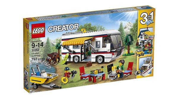 LEGO Creator 31052 Prázdninový karavan, věk 7-12, Doprava zdarma