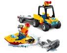 LEGO City Great Vehicles 60286 Záchranná plážová čtyřkolka