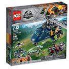 LEGO Jurský svět 75928 - Pronásledování Bluea helikoptérou
