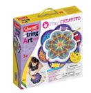 Quercetti Play Creativo String Art Mandala – kreslení pomocí nití a kolíčků
