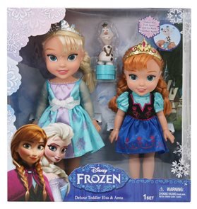 Panenky FROZEN deluxe set Elsa a Anna
