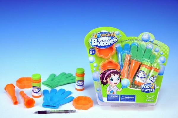 Bublifuk - skákající bubliny s rukavicí