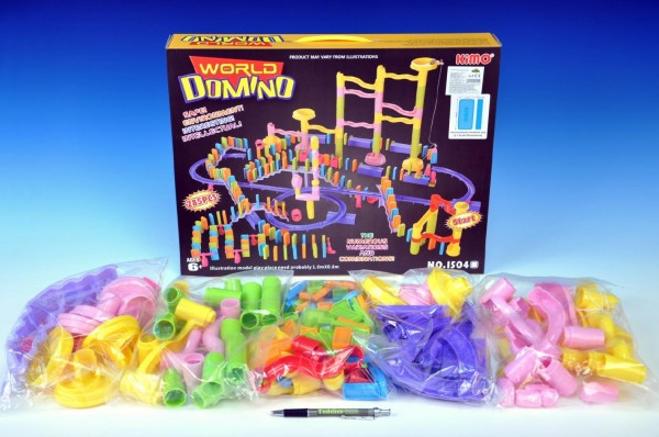 Domino s kuličkovou dráhou