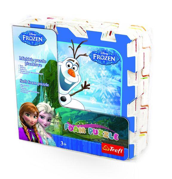 TREFL Pěnové puzzle Ledové království - 8 dílů