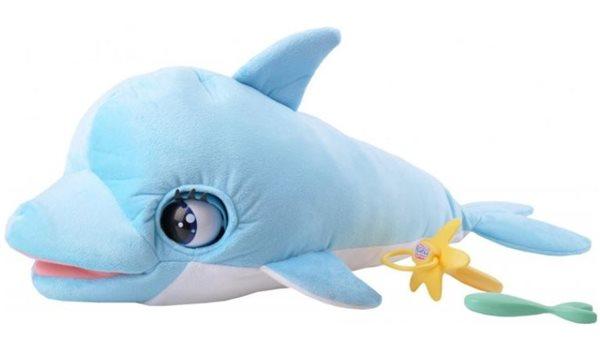 Delfín Blu Blu 60cm plyšový, Doprava zdarma