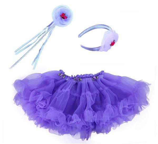 Sukně TUTU s příslušenstvím - fialová